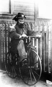 Norton op de fiets