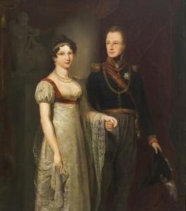 Anna Paulowna en Willem II