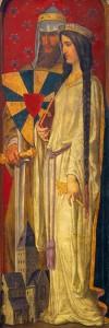 Boudewijn V van Vlaanderen en Adela van Frankrijk