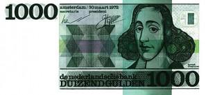 Baruch Spinoza 1000 gulden biljet