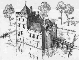 Kasteel Dussen vóór 1421