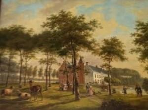 Kasteel van Rhoon schilderij