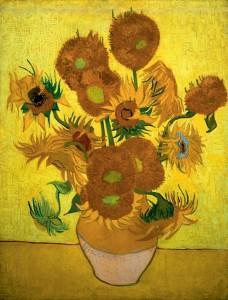 Zonnebloemen is een schilderij uit een serie stillevens gemaakt door de Nederlandse kunstschilder Vincent van Gogh.