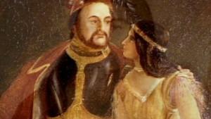 Pocahontas getrouwd met John Rolf