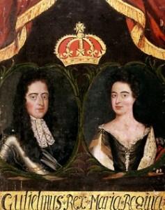 Willem III en Maria II