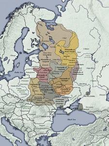 Het Kievse Rijk sinds 1000 na Chr.