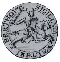 Zegel van Wouter I Berthout
