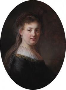 Saskia van Uylenburgh door Rembrandt