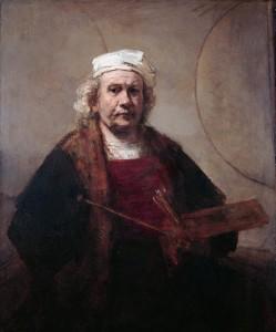 Zelfportret van Rembrandt van Rijn