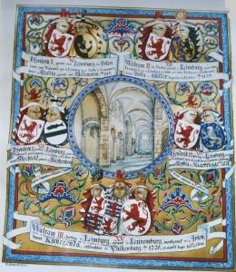 Kwartierstaat Walram III van Limburg