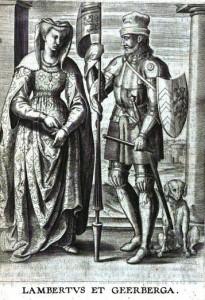 Lambert I van Leuven en Gerberga van Lotharingen
