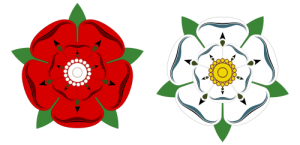 Tudor Rose and White Rose of York