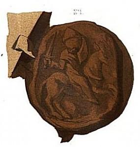 Zegel van Lambert II van Leuven
