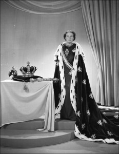 Koningin Juliana in 1948