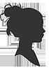 silhouette vrouw