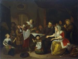 Het Sint Nicolaasfeest. 1685.
