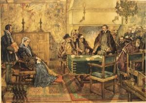 Willem van Oranje in de Raad van State 31 december 1564 J.H. Isings 1884-1977
