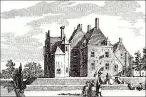 Kasteel De Raephorst te Wassenaar in 1738