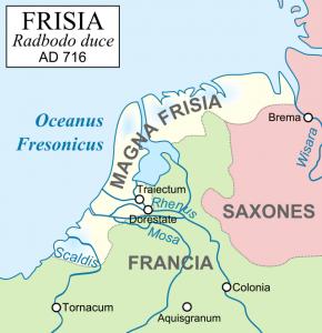 Friesland onder Koning Radboud