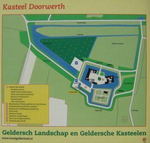 plattegrond Kasteel Doorwerth