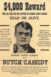 Butch Cassidy wanted-poster