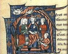 Eleonora van Aquitanië en Hendrik II van Engeland