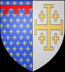 Wapen Anjou vanaf 1277