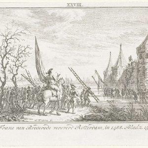 Jonker Frans verovert Rotterdam in 1488