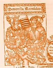 Petronella van Aragón en haar man Berenguer IV