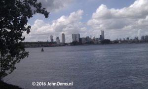 Uitzicht op een wereldstad