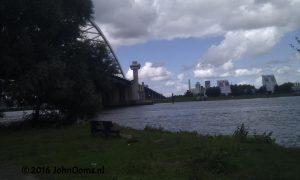 Zicht op Capelle aan den IJssel