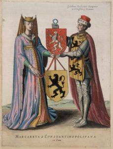 gravin-margaretha-van-constantinopel-en-willem-van-dampierre-afbeelding-uit-flandria-illustrata-1641
